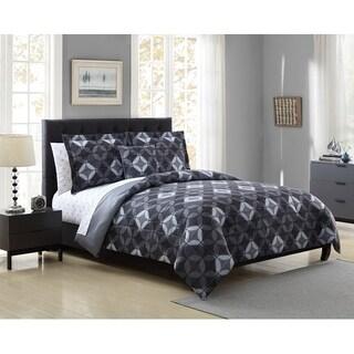 Hamilton Hall Katrell Geometric Reversible 6 & 8 Piece Comforter Set