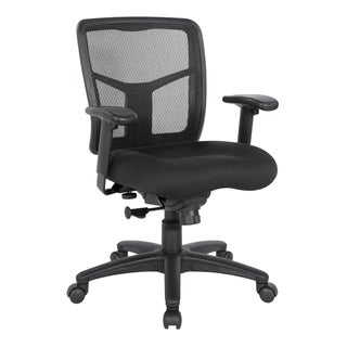 Mesh Back Office Chair with Height Adjustable Arms