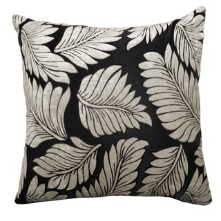 Leaf Velvet Feel Decorative Pillow