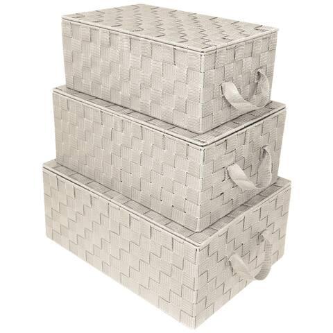 Woven Storage Basket Set