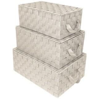 Link to Woven Storage Basket Set Similar Items in Storage & Organization