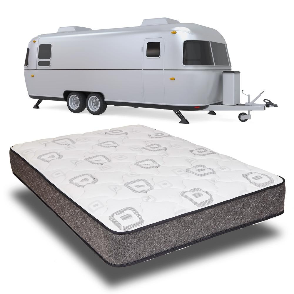 Travel RV Mattress Heavy Duty Comfort Bed Rv Motor Home Mattress Three Quarter