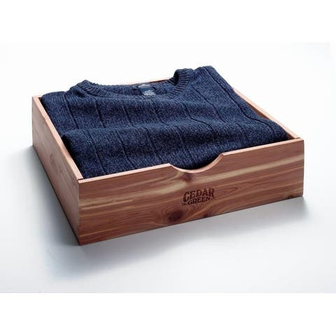Aromatic Red Cedar Sweater Box