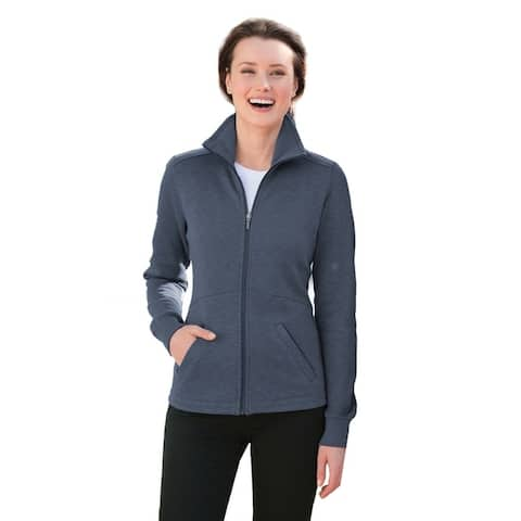 One Country United Ladies Slub Fleece Full-Zip Jacket