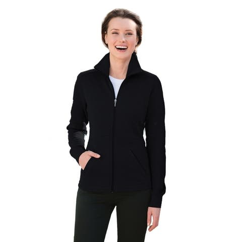 One Country United Ladies Slub Fleece Full-Zip Jacket