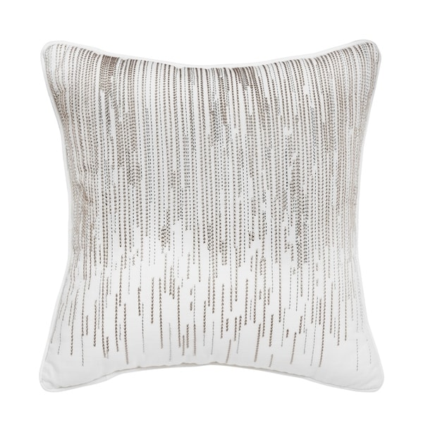 The Gray Barn Sleepy Hollow 16-inch Embroidered Fashion Pillow