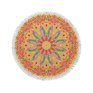 "Link to Turkish Cotton Round Beach Towels - 60"" x 60"" Similar Items in Towels"