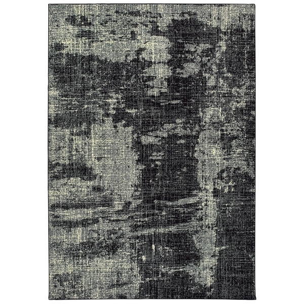 """Rectangle Luna 9'10"""" X 12'10"""" Abstract/Distressed, Contemporary/Casual Rug - 9'10"""" X 12'10"""""""