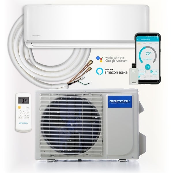 MRCOOL DIY12,000 BTU Ductless Mini Split with Wireless-Enabled Smart Controller - White