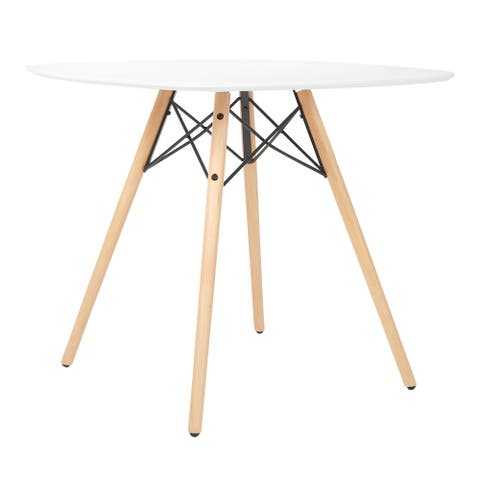 Allen Dining Table with Wood Legs