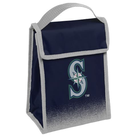 MLB Team Logo Gradient Insulated Velcro Lunch Bag - Seattle Mariners