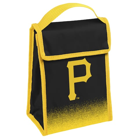 MLB Team Logo Gradient Insulated Velcro Lunch Bag - Pittsburgh Pirates