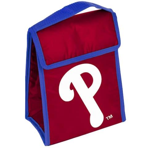 MLB Team Logo Gradient Insulated Velcro Lunch Bag - Philadelphia Phillies