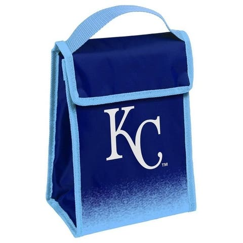 MLB Team Logo Gradient Insulated Velcro Lunch Bag - Kansas City Royals