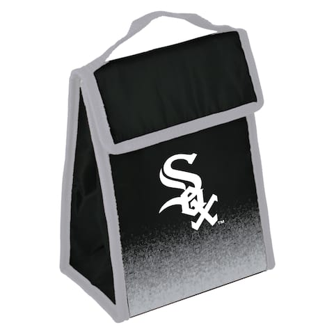 MLB Team Logo Gradient Insulated Velcro Lunch Bag - Chicago White Sox