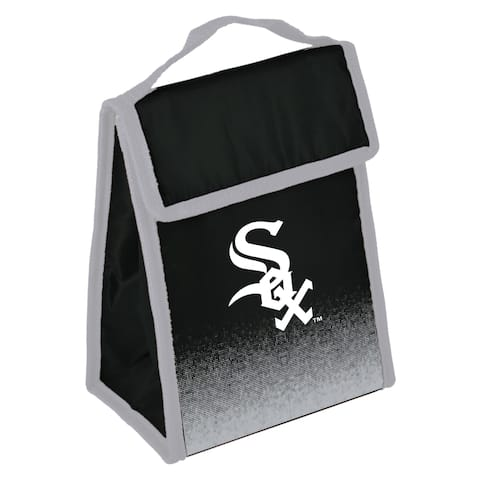 MLB Team Logo Gradient Insulated Velcro Lunch Bag - Chicago White Sox