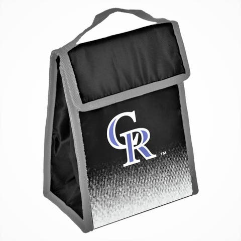 MLB Team Logo Gradient Insulated Velcro Lunch Bag - Colorado Rockies