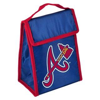 MLB Team Logo Gradient Insulated Velcro Lunch Bag Atlanta Braves
