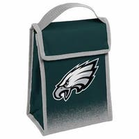 NFL Team Logo Gradient Insulated Velcro Lunch Bag - Philadelphia Eagles