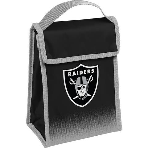 NFL Team Logo Gradient Insulated Velcro Lunch Bag - Oakland Raiders