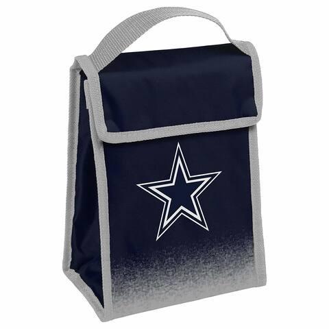 NFL Team Logo Gradient Insulated Velcro Lunch Bag - Dallas Cowboys