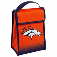 NFL Team Logo Gradient Insulated Velcro Lunch Bag - Denver Broncos
