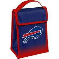 NFL Team Logo Gradient Insulated Velcro Lunch Bag - Buffalo Bills