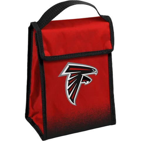 NFL Team Logo Gradient Insulated Velcro Lunch Bag - Atlanta Falcons