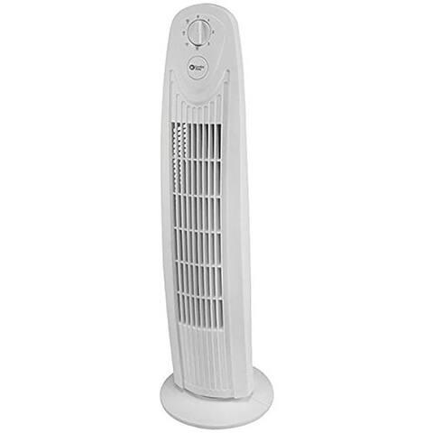Comfort Zone 3 speed Electric Oscillating Pedestal Fan