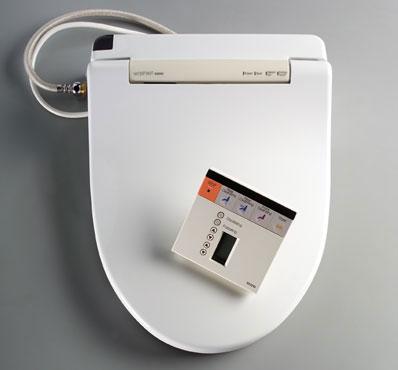 Shop Toto Washlet S300 White Elongated Toilet Seat Bidet Free