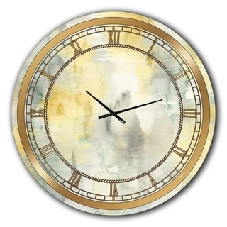 Designart 'Summer Shower' Glam Wall CLock