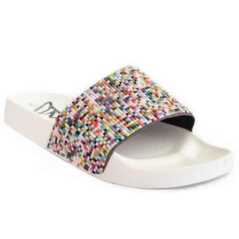 BLUE Women's Gigi Plinko Fashion Slide Sandals