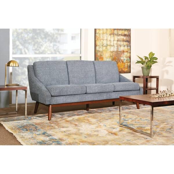 Outstanding Shop Osp Home Furnishings Davenport Blue Green Grey Wood Customarchery Wood Chair Design Ideas Customarcherynet
