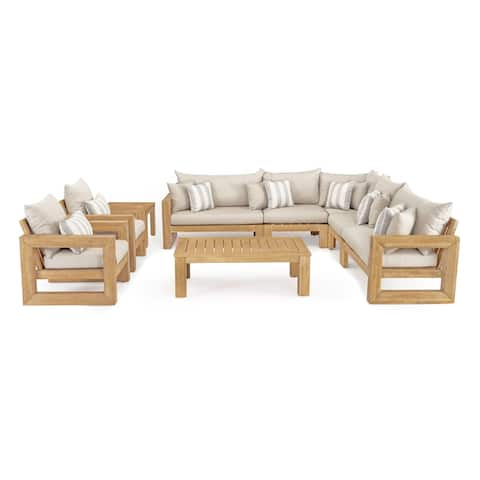 Benson 9pc Seating Set in Slate Grey by RST Brands