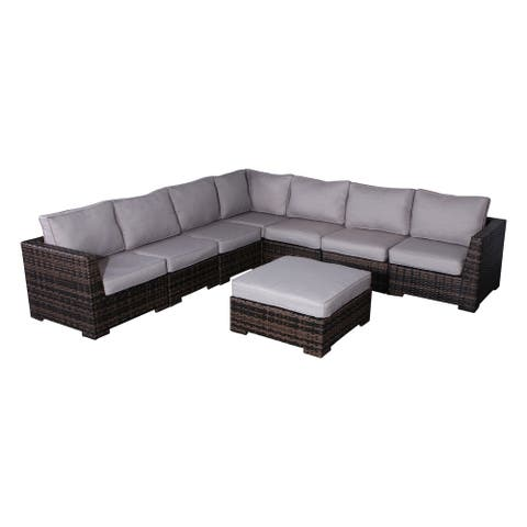 Patio Sectional with Cushions