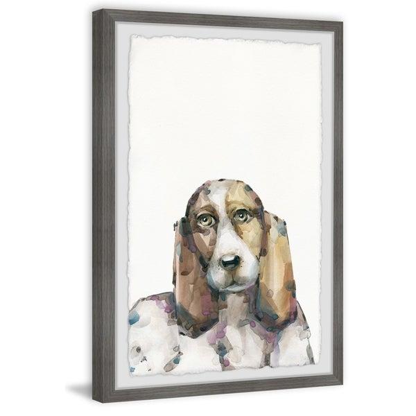Handmade Big Beagle Framed Print