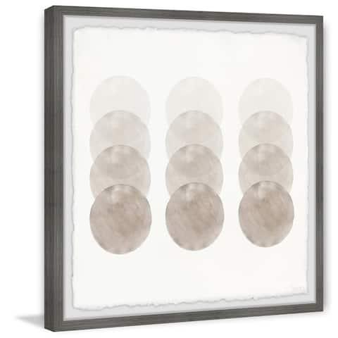 Handmade Capiz Shells Framed Print