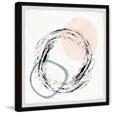 Handmade Circle Chaos Framed Print