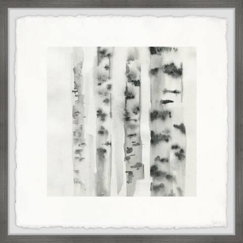 Handmade Branches Marks Framed Print
