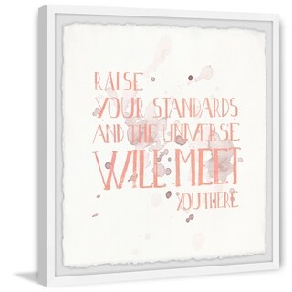 Marmont Hill - Handmade Raise Your Standards III Framed Print
