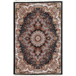 "Gracewood Hollow Cortinas Wool Blend Floral Heat-set Turkish Area Rug - 7'0"" x 5'4"""