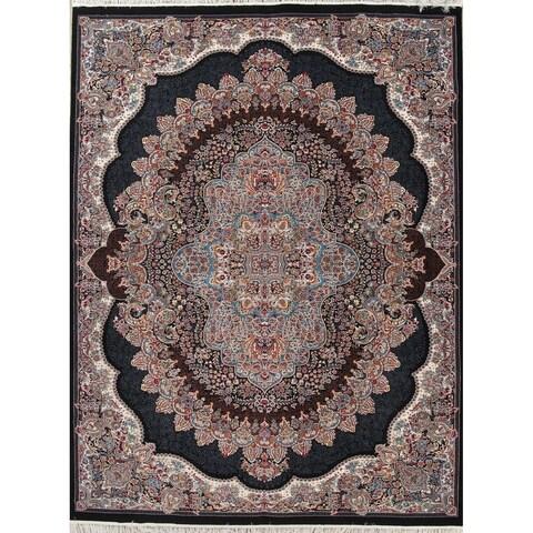 Copper Grove Hamina Heat-set Floral Wool/ Acrylic Area Rug - 9'10 x 13'3
