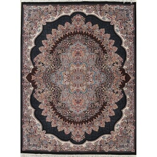 "Copper Grove Hamina Heat-set Floral Wool/ Acrylic Area Rug - 13'3"" x 9'10"""