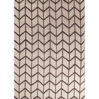 "Gracewood Hollow Kashugi Handmade Geometric Area Rug - 13'9"" x 9'11"""