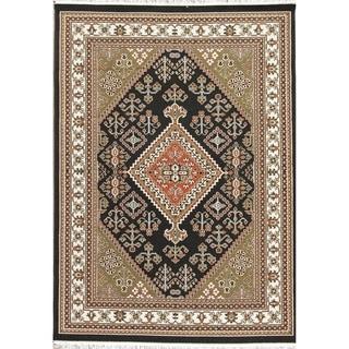 "Copper Grove Hong Geometric Polyester Jute Turkish Oriental Area Rug - 7'0"" x 5'4"""