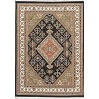 "Copper Grove Hong Geometric Polyester Jute Turkish Oriental Area Rug - 7' x 5'4"""