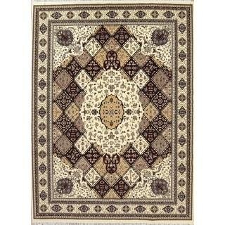 "Gracewood Hollow Odian Jute Blend Oriental Aubusson Jute Geometric Turkish Oriental Area Rug - 13'4"" x 9'9"""