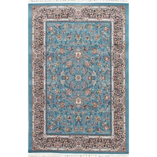 """Copper Grove Brande All-over Floral Wool Acrylic Heat-set Turkish Oriental Area Rug - 7'0"""" x 5'4"""""""