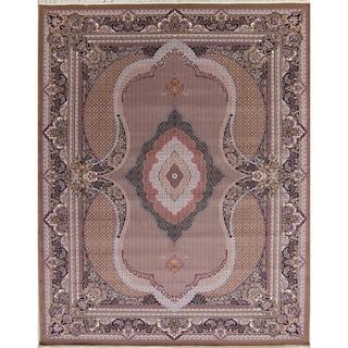 "Copper Grove Mylikouri Bidjar Geometric Wool Acrylic Heat-Set Turkish Oriental Area Rug - 13'3"" x 9'10"""