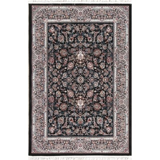 "Copper Grove Bramming All-over Wool Acrylic Heat-set Floral Turkish Oriental Area Rug - 7'0"" x 5'4"""